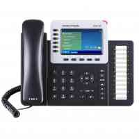 "GXP2160 Business phone  with 4.3"" colour display, 6 lines, 24 speed dial keys"