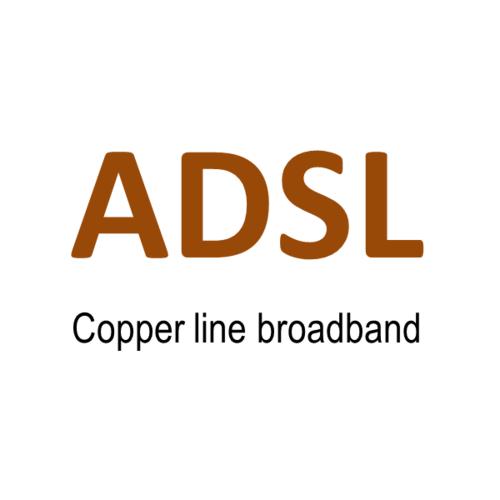 ADSL broadband Internet - Monthly subscription