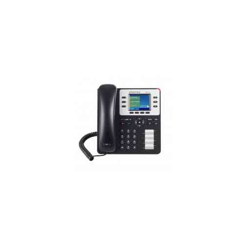 "GXP2130 Business phone  with 4.3"" colour display, 3 lines, 8 direct dial keys"
